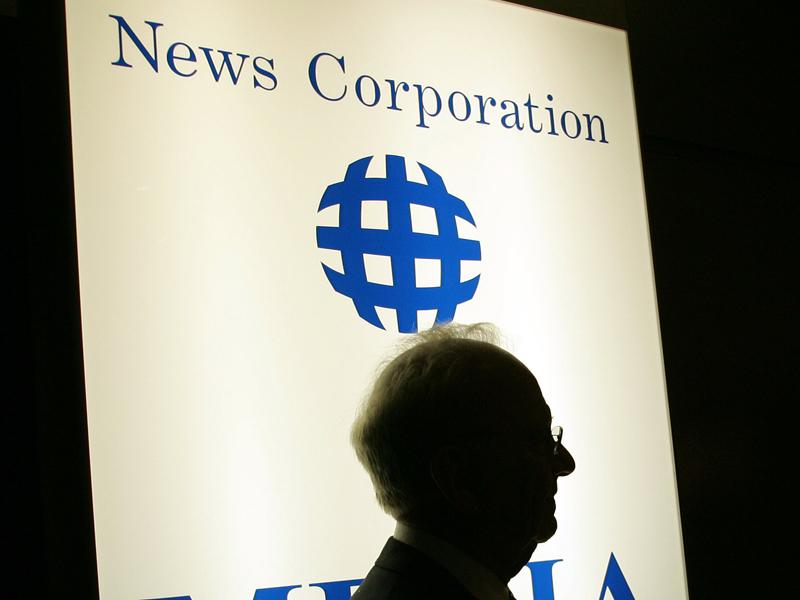 Chairman of News Corporation, Rupert Murdoch