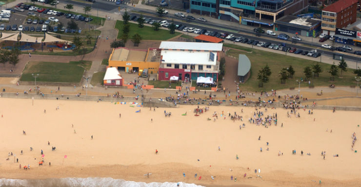 Sydney's Maroubra beach.