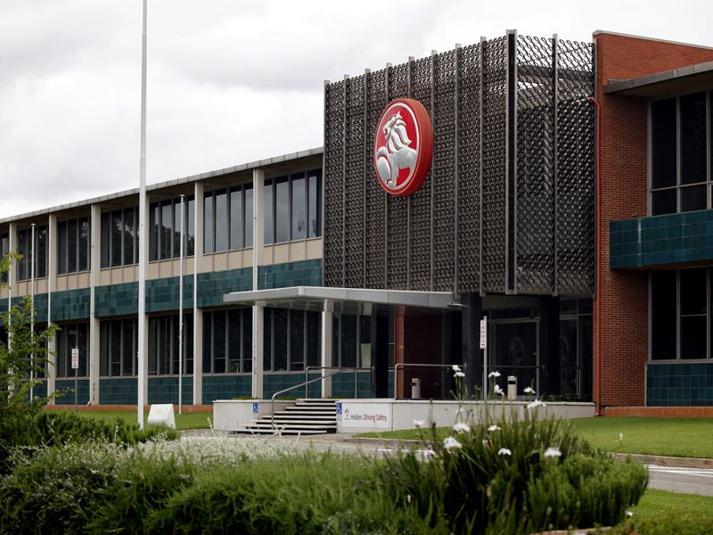 Holden's Elizabeth plant in South Australia