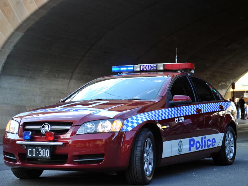 A NSW police car