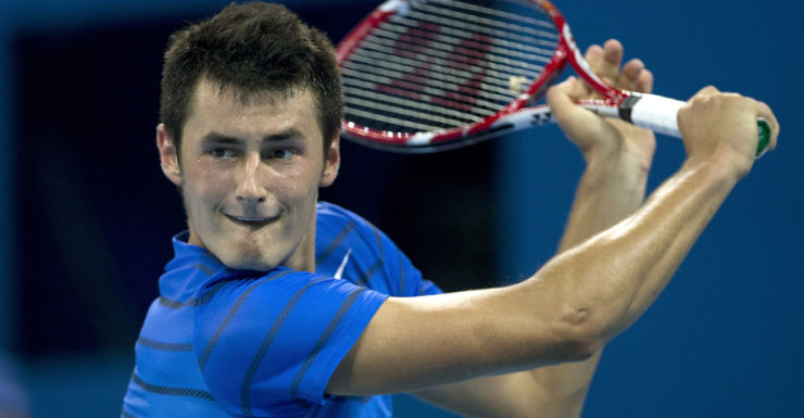 Australian tennis player Bernard Tomic