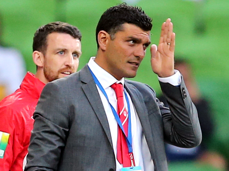 Melbourne Heart head coach John Aloisi