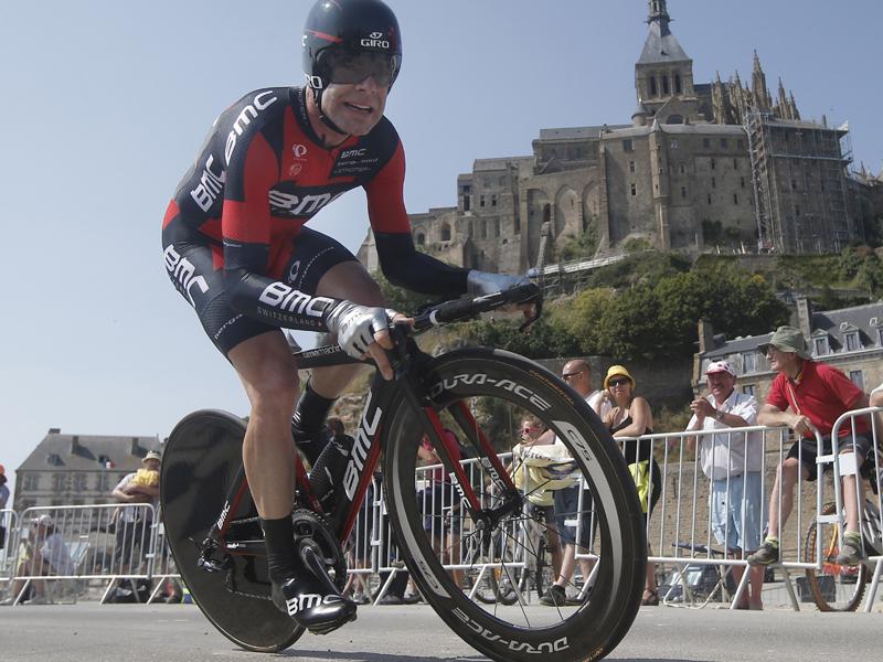 Australian cyclist Cadel Evans