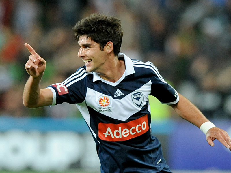 Melbourne Victory player Gui Finkler