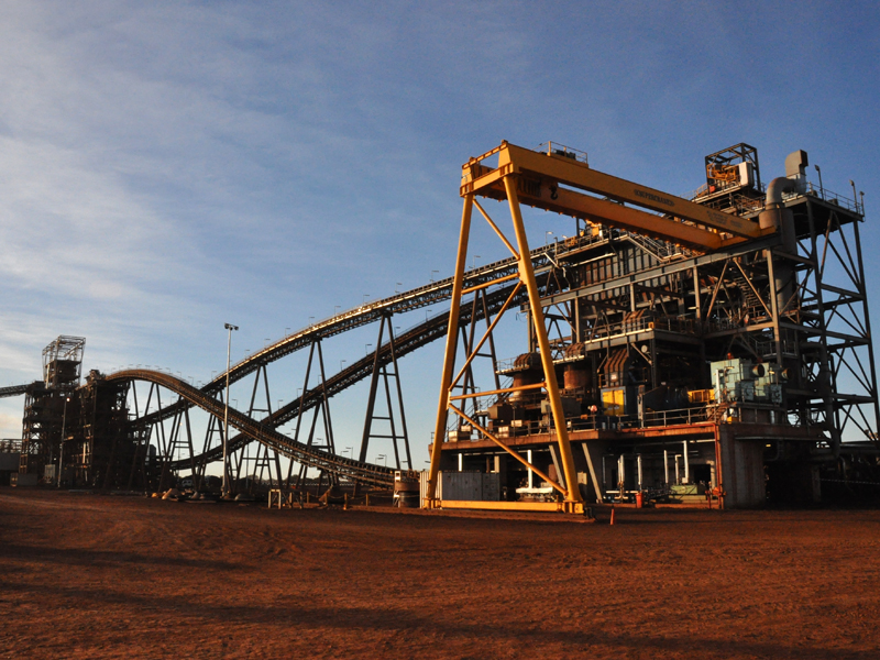 Fortescue Metals Group's Christmas Creek mine in Western Australia