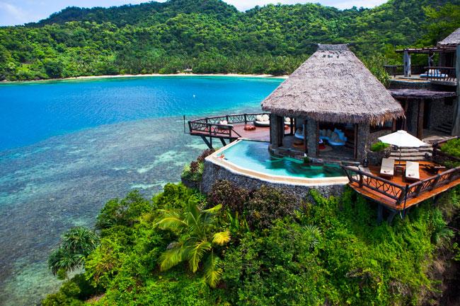 Red Bull billionaire's private island