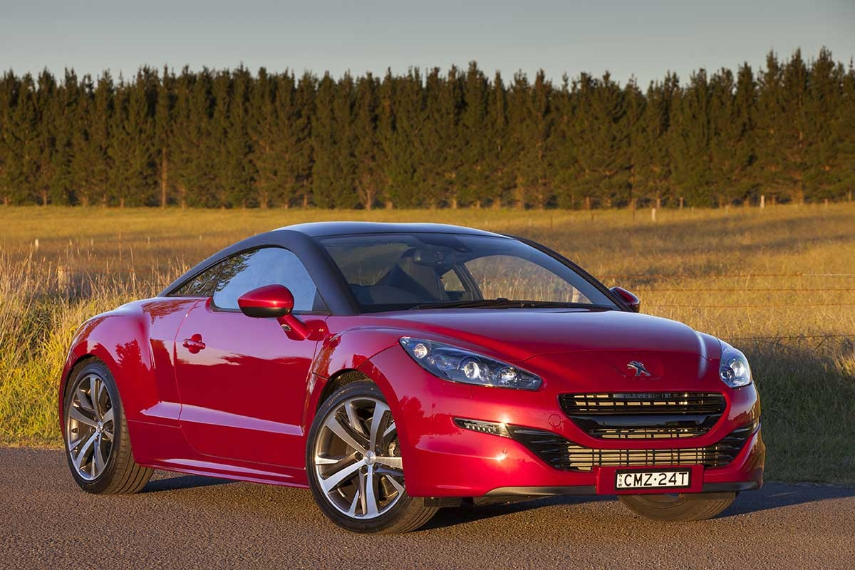 motoring road test the peugeot rcz the new daily. Black Bedroom Furniture Sets. Home Design Ideas