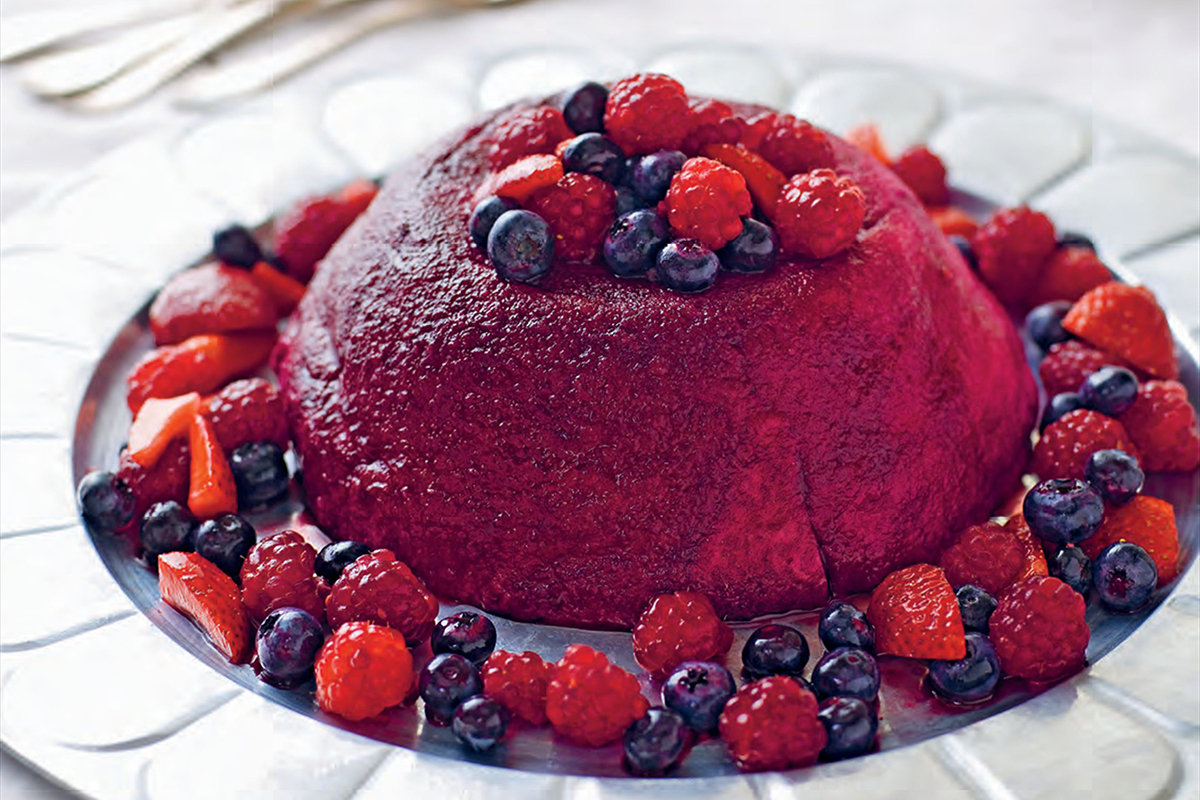 Monash University Low FODMAP Diet: Low FODMAP Summer Pudding recipe