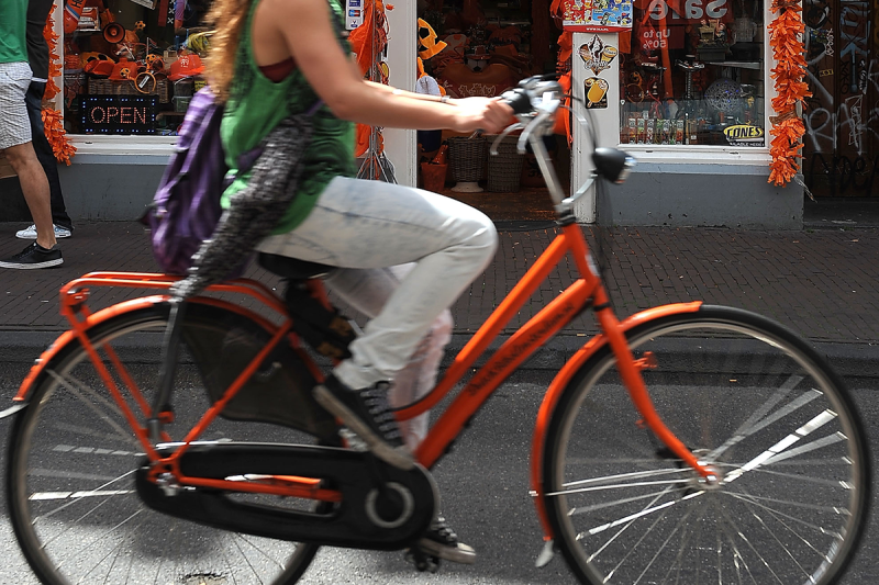 Swap your car for a bike and you'll be able to travel and save more. Image: Getty