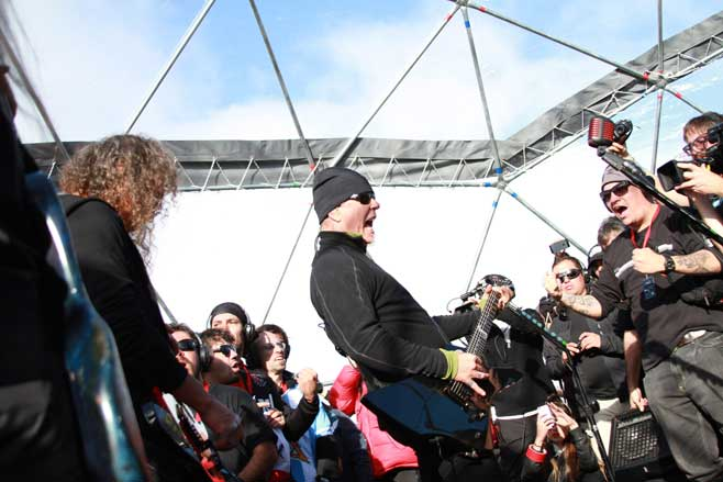 Metallica in Antarctica