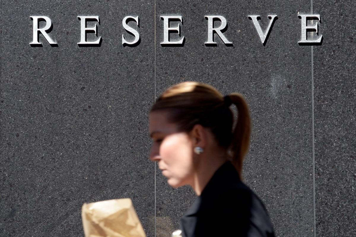 reserve bank interest october