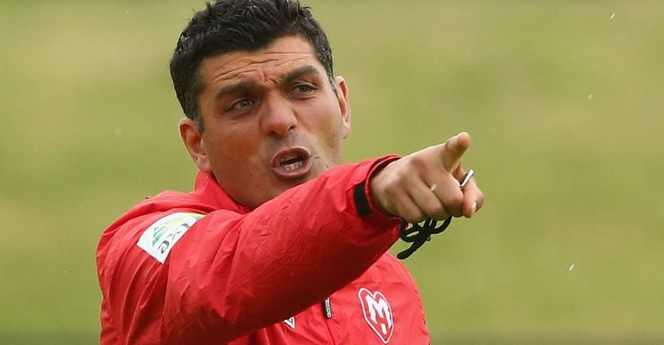 Time to deliver: John Aloisi.