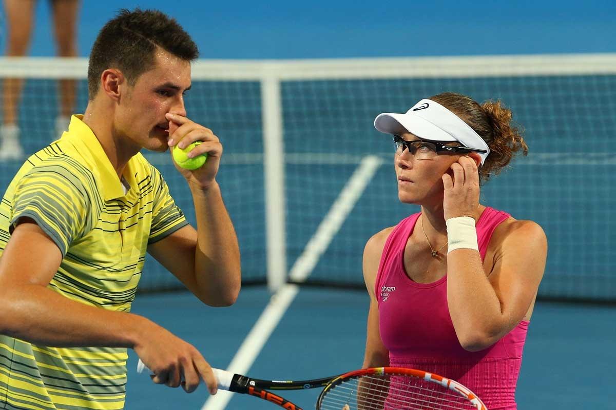 Bernard Tomic and Samantha Stosur