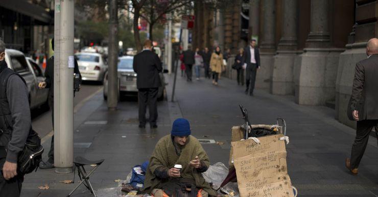 homeless Sydney