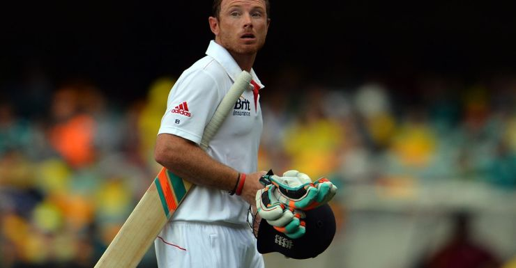 Ian Bell after being dismissed at the Gabba.