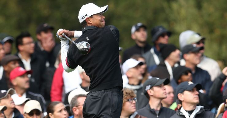Tiger Woods during the third round of the World Challenge.