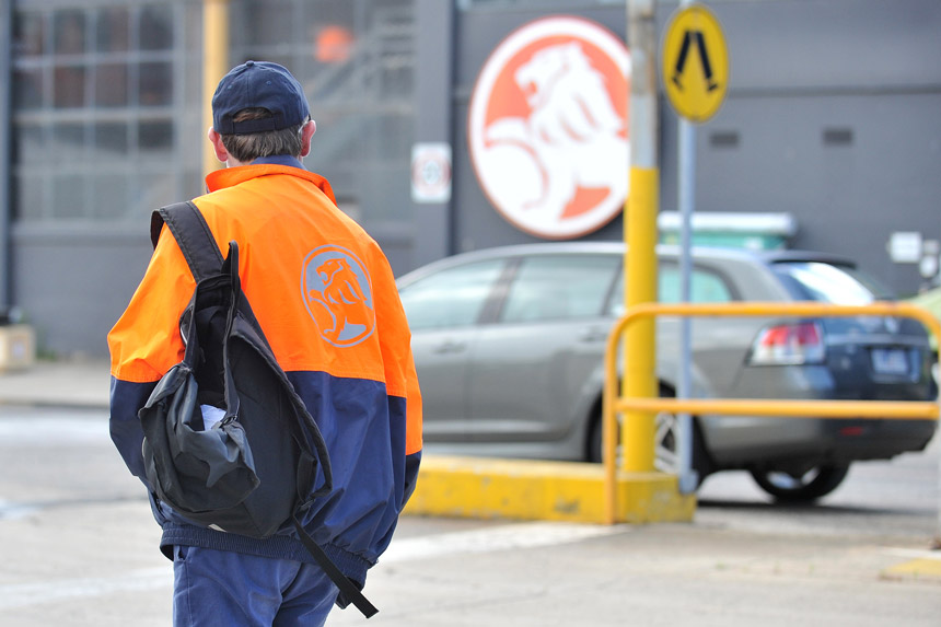 Holden worker
