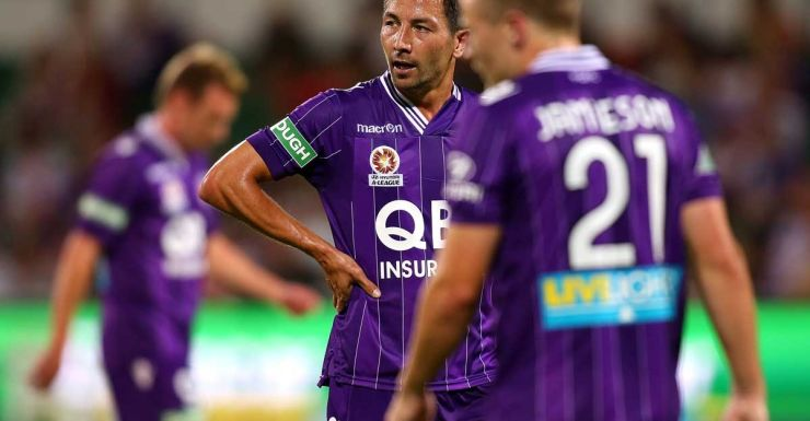 Perth Glory's Jacob Burns.