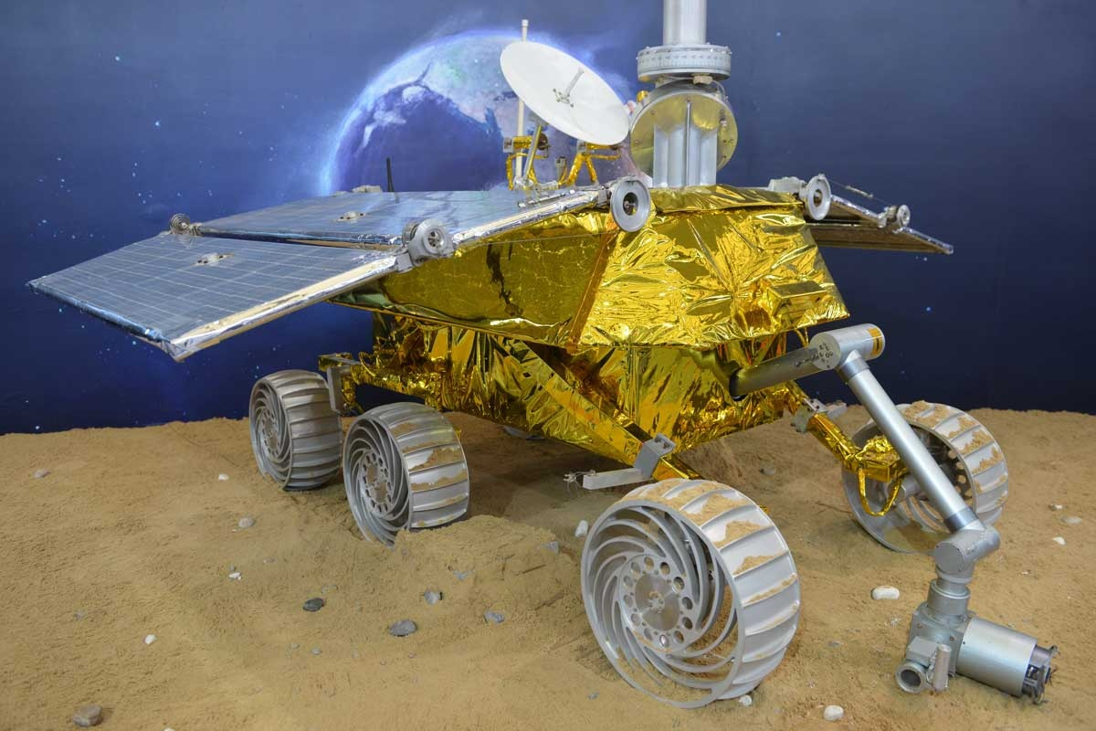 A model of the Chinese lunar rover.