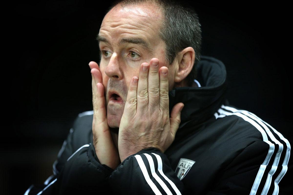 Sacked: West Brom manager Steve Clarke.