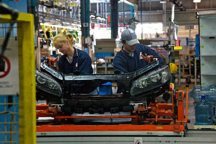 Holden workers