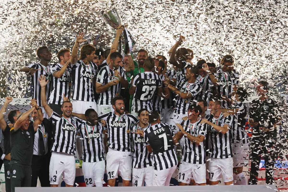 Juventus: heading downunder.