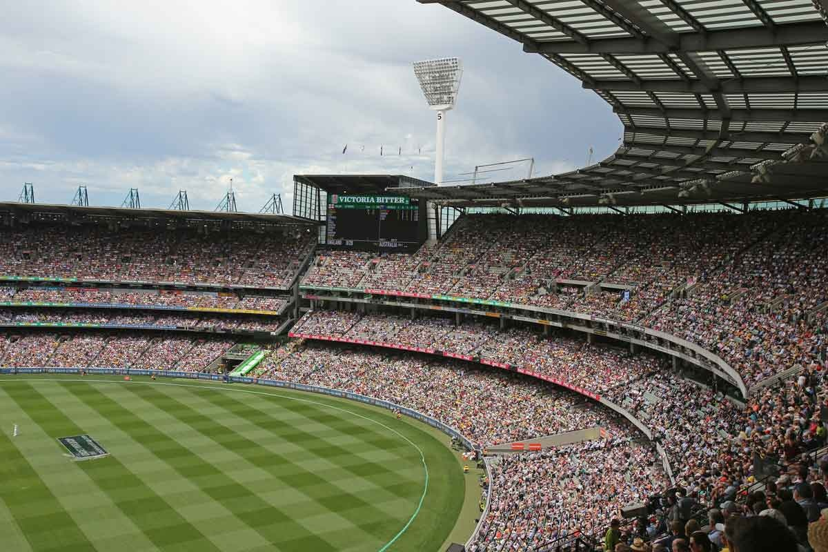 Packed with spectators, the MCG presents an obvious target for terror, say police, who will mark Anzac Day with a massive presence.