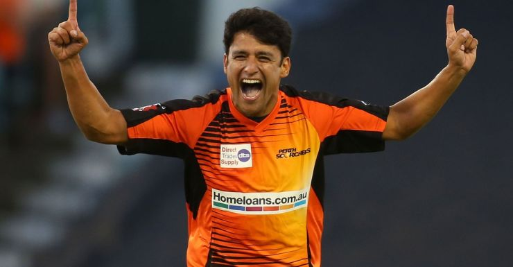 Yasir Arafat starred with the ball for the Scorchers.