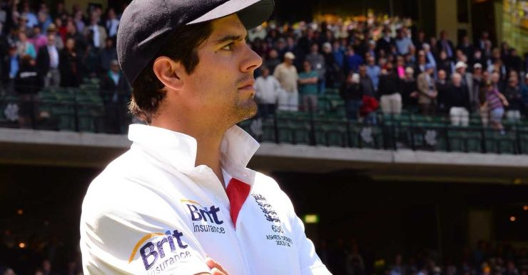 Alastair Cook ponders another incompetent England performance.