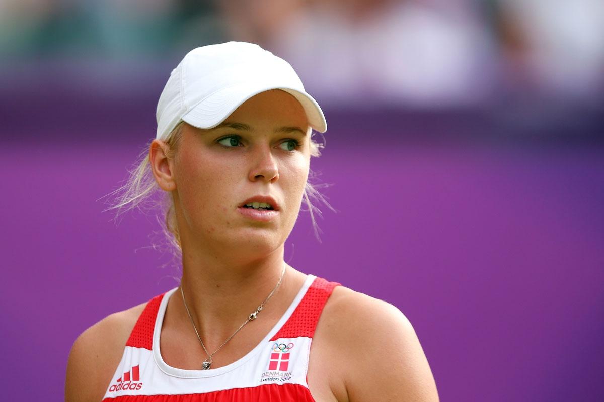 World No. 1 Caroline Wozniacki.