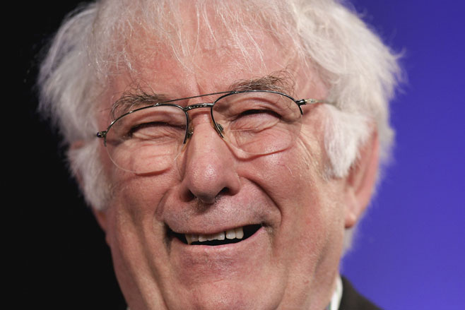 seamus heaney interview Writer and nobel laureate seamus heaney looks back at his career, finding out he won the nobel prize, and presents his new book, the spirit level.