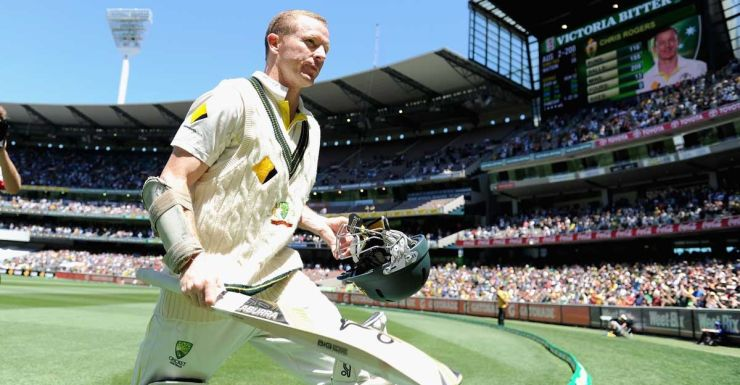 Better with age: Chris Rogers.