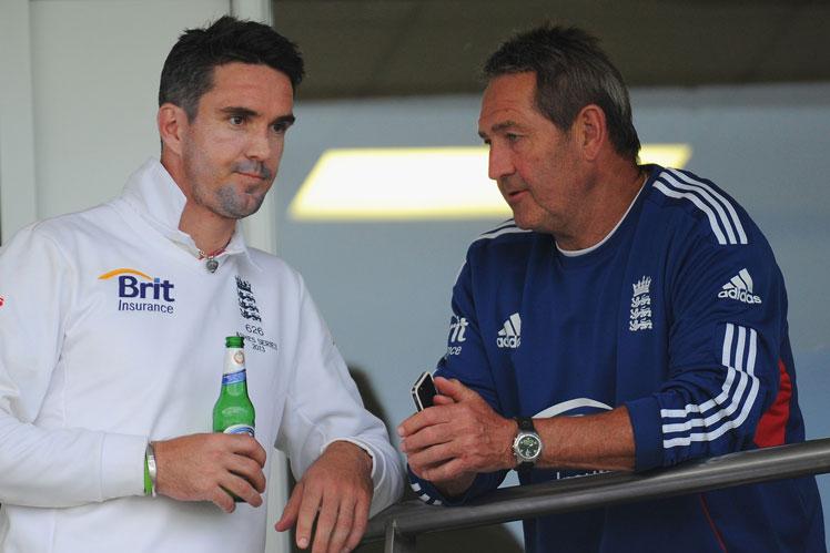 Kevin Pietersen and Graham Gooch