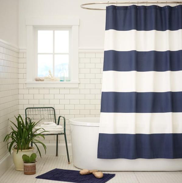 1. Shower Curtains