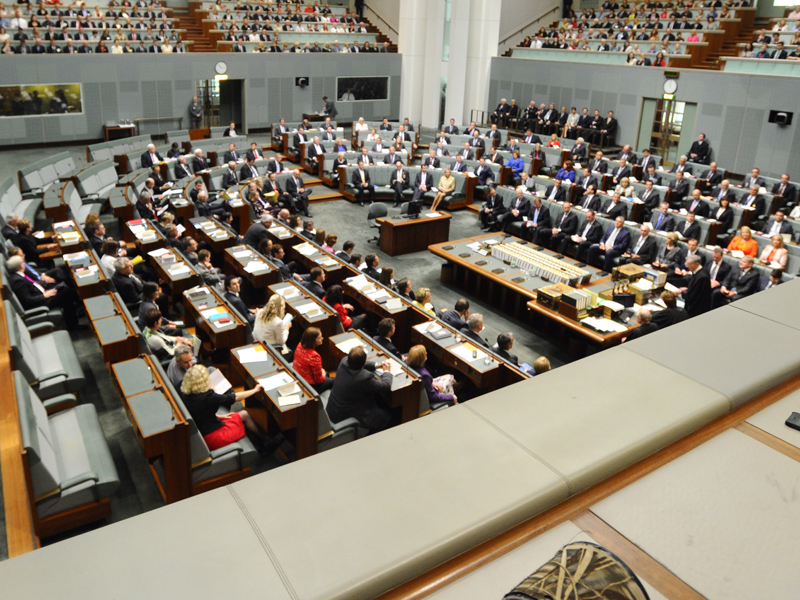 The House of Representatives chamber