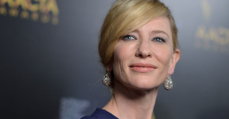 Cate Blanchett arrives at the 3rd Annual AACTA International Awards