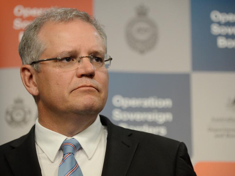 Immigration Minister Scott Morrison