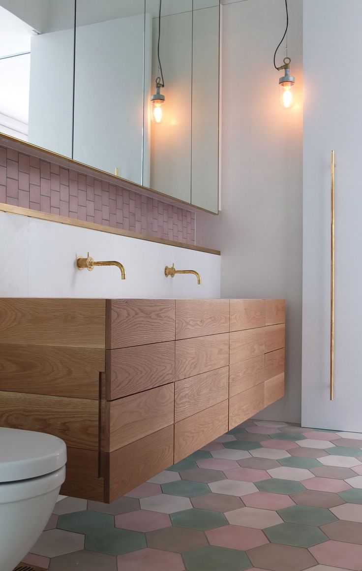 Natural timber is going to be huge in bathroom designs this year. Used as the key material for paneling of cabinetry ... & Hot new bathroom trends for 2014 | The New Daily