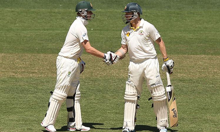 Revelations ... Australian batsmen Stephen Smith and Chris Rogers.