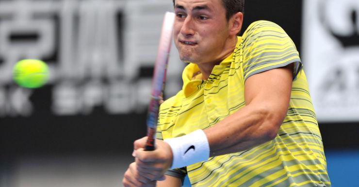 Tennis player Bernard Tomic