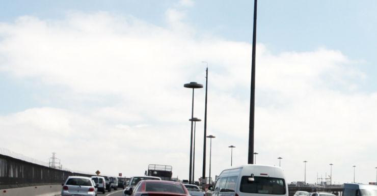 A file photo of a car crossing the West Gate Bridge
