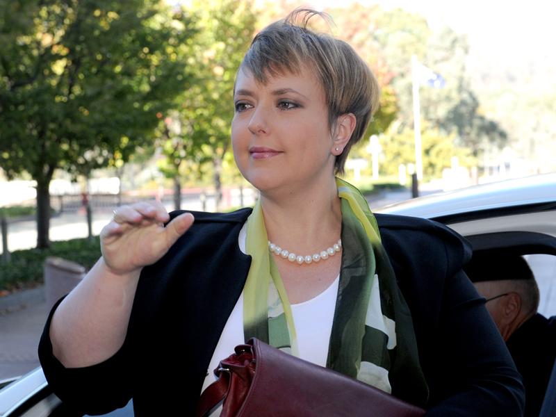 Lara Giddings in Canberra last year
