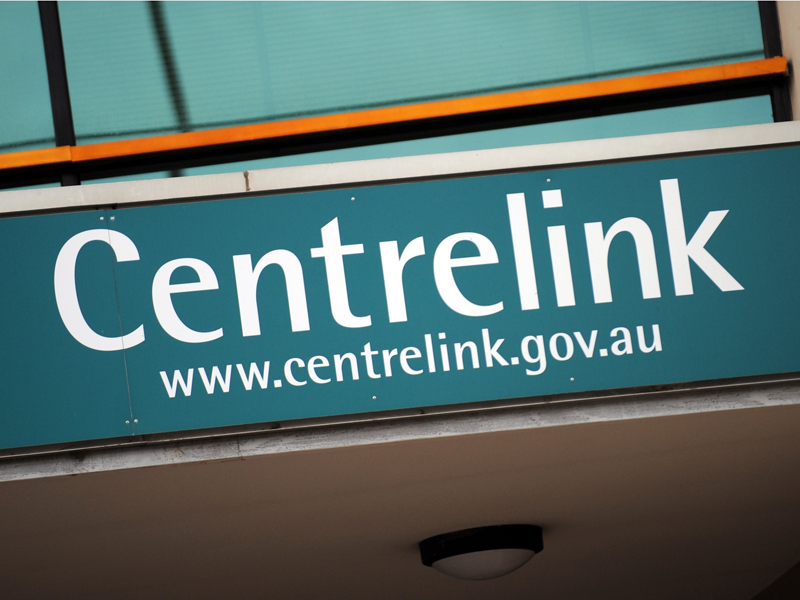 A file photo of a Centrelink