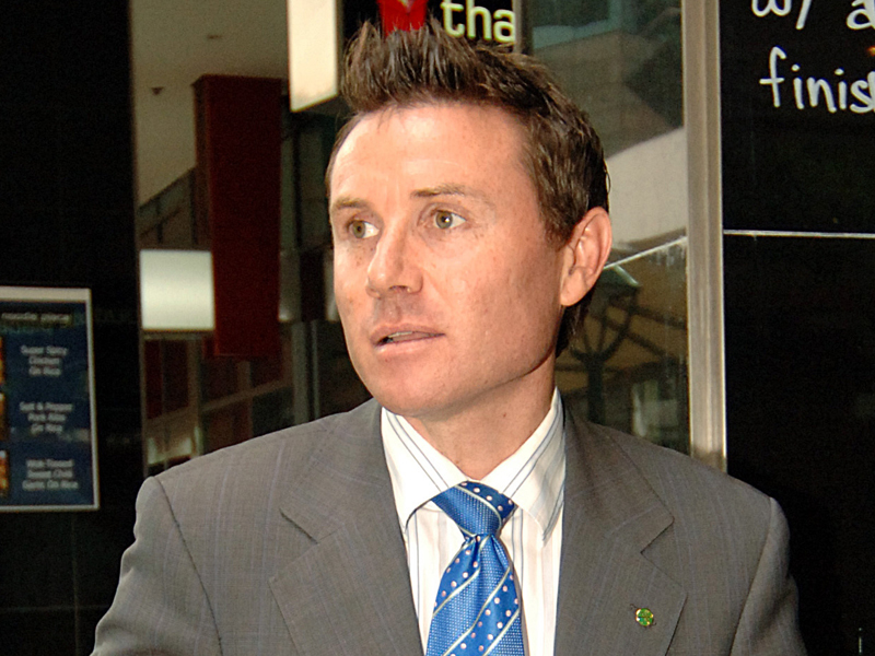 File photo of Liberal MP Andrew Laming