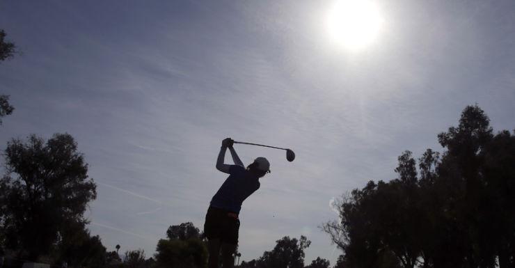 Lydia Ko in action at an LPGA tournament