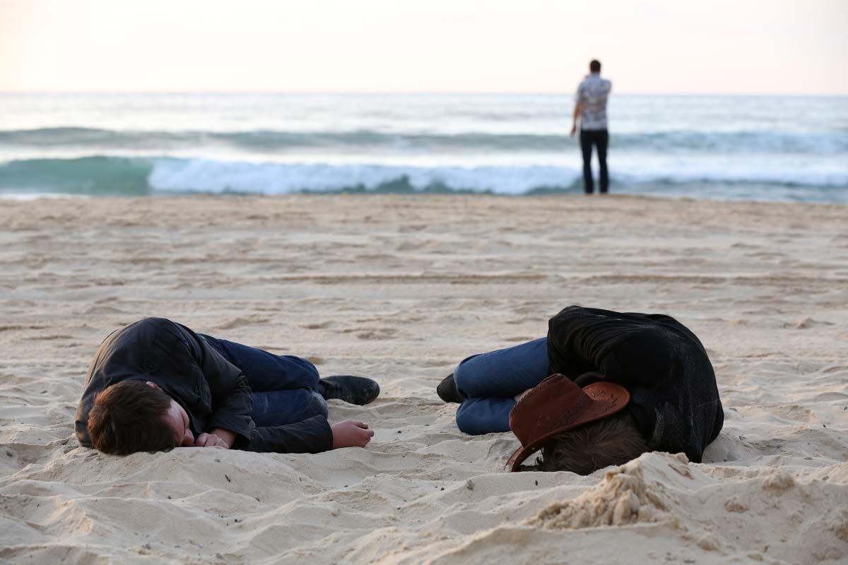 Bondi Beach, New Year's Day
