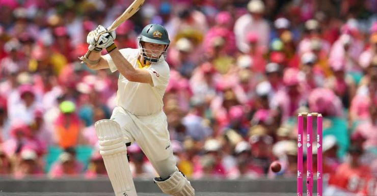 Rogers drives on his way to a century at the SCG.