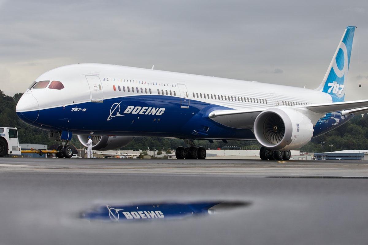 The Dreamliner.