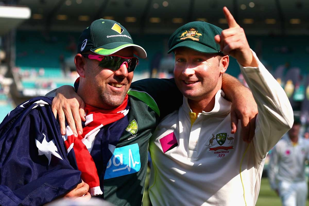 Winning combination: Lehmann and Clarke.