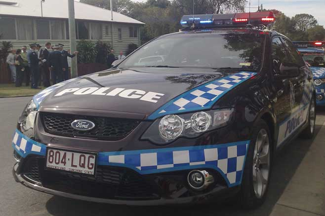 Queensland police car